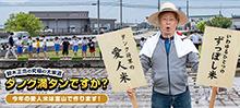 タンク満タンですか 第23回 今年の愛人米は富山で作ります
